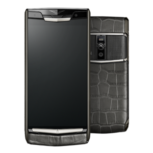 Vertu Signature Touch Clous de Paris Alligator