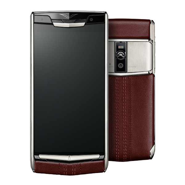 Vertu Signature Touch Garnet Calf