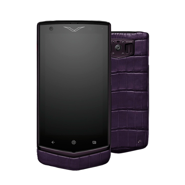 Vertu Constellation V Pure Plum Alligator