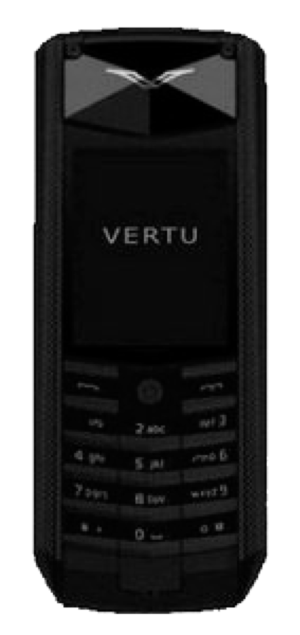 Vertu Ascent 2010 Black Knurl