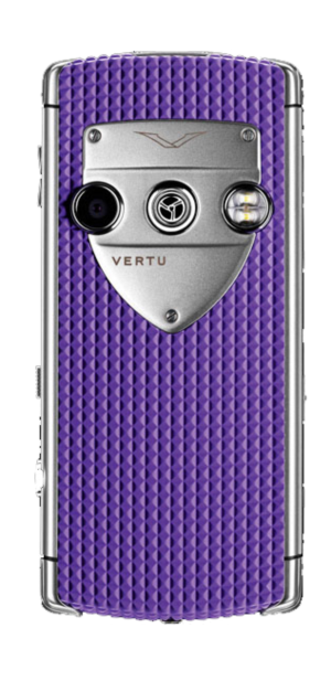Vertu Constellation T Smile Sea Anemon Purple Фиолетовая резина
