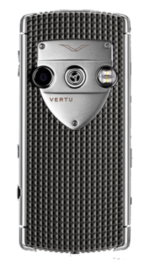 Vertu Constellation T Smile Pebble Grey Серая резина