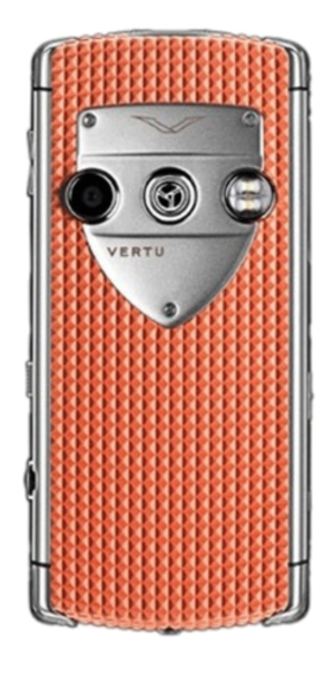 Vertu Constellation T Smile Coral Red