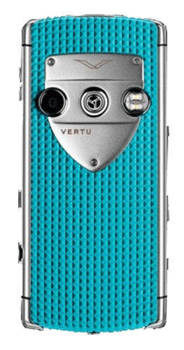 Vertu Constellation T Smile Coral Blue Голубая резина