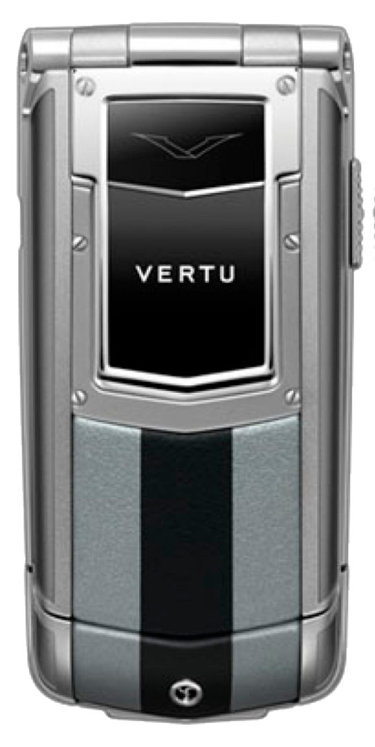 Vertu Constellation Ayxta Turismo Silver Black