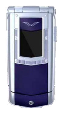 Vertu Constellation Ayxta Blue Ceramic