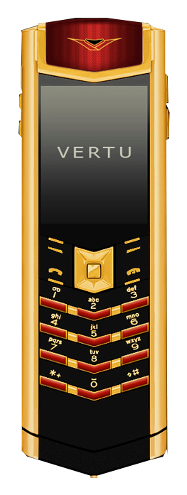 Vertu Signature S Design Emperor Red Enamel