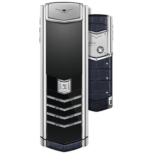 Vertu Signature S Design Navy Blue