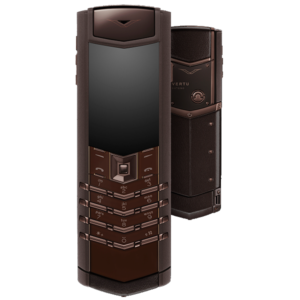 Vertu Signature S Design Pure Chocolate Stainless Steel