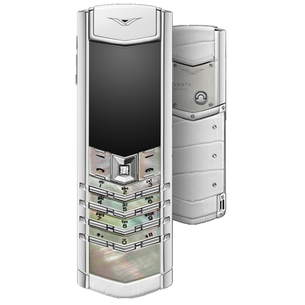 Vertu Signature S Design Mother Of Pearl