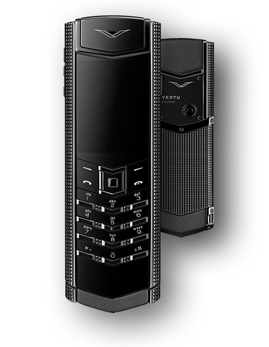 Vertu Signature S Design Clous De Paris PVD Black