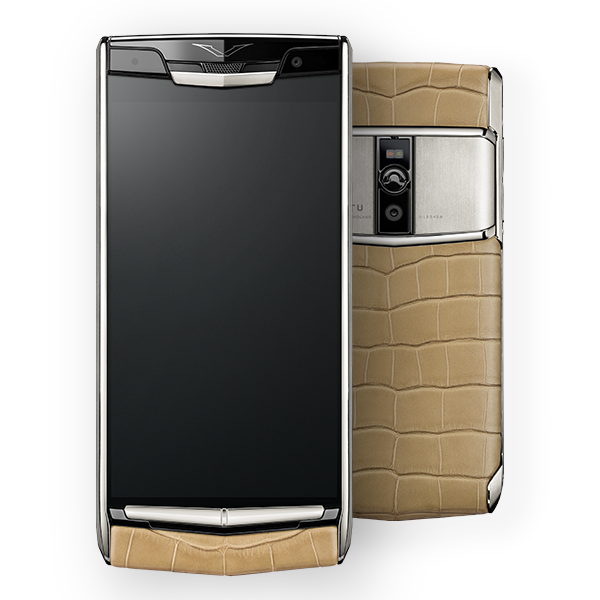Vertu Signature Touch Almond Alligator