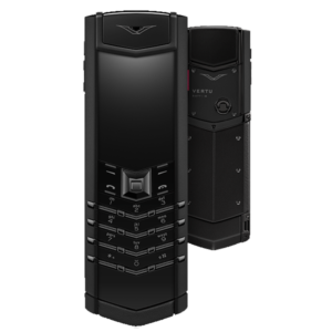 Vertu Signature S Design Pure Black with Ruby