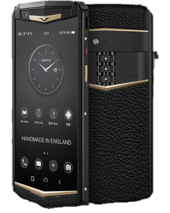Vertu Aster P Ti Black Gold Ceramics Blk Screw